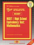 HiSET / High School Equivalency Test, Mathematics