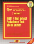 HiSET / High School Equivalency Test, Social Studies