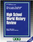 HIGH SCHOOL WORLD HISTORY REVIEW