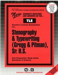 Stenography & Typewriting (Gregg & Pitman), Sr. H.S.