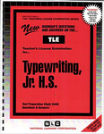 Typewriting, Jr. H.S.
