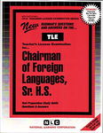 Foreign Languages, Sr. H.S.