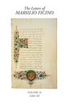 The Letters of Marsilio Ficino Volume 10