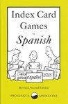 Index Card Games for Spanish
