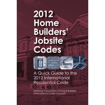 2012 Home Builders' Jobsite Codes