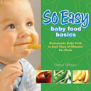 So Easy Baby Food Basics