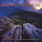 2016 Blue Ridge Mountains Scenic Wall Calendar