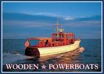 Wooden Power Boats Note Cards by Benjamin Mendlowitz