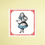 The Alice Print: Pack of 3