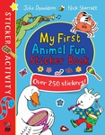 My First Animal Fun Sticker Book