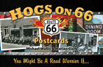 Hogs on 66 Postcards