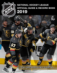 National Hockey League Official Guide & Record Book 2019