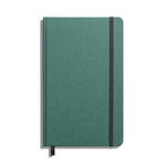 Shinola Journal, HardLinen, Plain, Forest Pine (5.25x8.25)