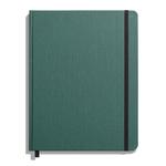 Shinola Journal, HardLinen, Plain, Forest Pine (7x9)