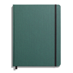 Shinola Journal, HardLinen, Grid, Forest Pine (7x9)