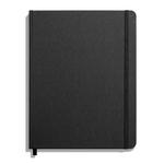 Shinola Journal, HardLinen, Grid, Jet Black (7x9)