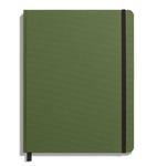 Shinola Journal, HardLinen, Ruled, Olive (7x9)