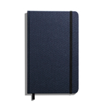 Shinola Journal, HardLinen, Grid, Navy (5.25x8.25)