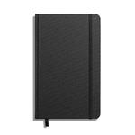 Shinola Journal, HardLinen, Grid, Jet Black (5.25x8.25)