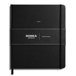 Shinola Journal, HardLinen, Plain, Jet Black (8 x 9.25)