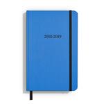 Shinola Planner: 2018-2019, 18 Month, Hard Linen, Cobalt Blue (5.25x8.25)