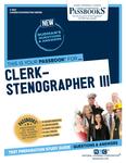 Clerk-Stenographer III