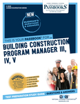 Building Construction Program Manager III, IV, V