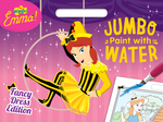 The Wiggles Emma!: Fancy Dress Edition Jumbo Paint With Water