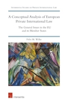 A Conceptual Analysis of European Private International Law