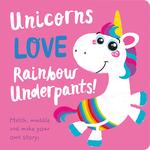 Unicorns LOVE Rainbow Underpants!