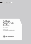 Maldives People's Majlis Election, 22 March 2014