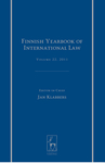 Finnish Yearbook of International Law, Volume 22, 2011