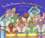 Ten Oni Drummers / Diez tamborileros oni