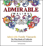 Admirable Family Vineyards: The Wine Roads of California Coloring Books Series