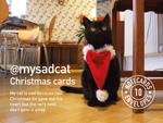 @mysadcat Christmas Cards