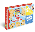 Five Little Monkeys Book and Bib Gift Set