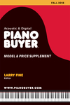 Piano Buyer Model & Price Supplement / Fall 2018