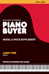 Piano Buyer Model & Price Supplement / Fall 2019