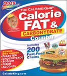 CalorieKing 2019 Calorie, Fat & Carbohydrate Counter