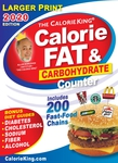 CalorieKing 2020 Larger Print Calorie, Fat & Carbohydrate Counter