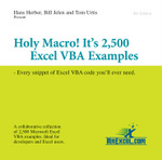 Holy Macro! It's 2,500 Excel VBA Examples