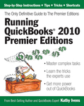 Running QuickBooks® 2010 Premier Editions