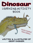 Dinosaur Learning Activity Book, 3rd Ed.