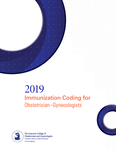 Immunization Coding for Obstetrician-Gynecologist 2019 Updated with ICD-10