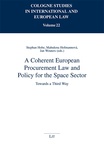 A Coherent European Procurement Law and Policy for the Space Sector