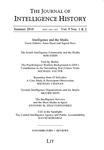 Journal of Intelligence History Vol. 9 No. 1-2 Winter 2010