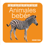 Libro desplegable. Animales bebés