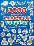 1000 pegatinas de monstruos, vampiros y otros seres fantásticos