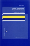 Dispute Avoidance and European Contract Law