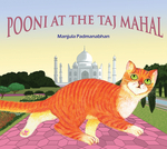 Pooni at the Taj Mahal